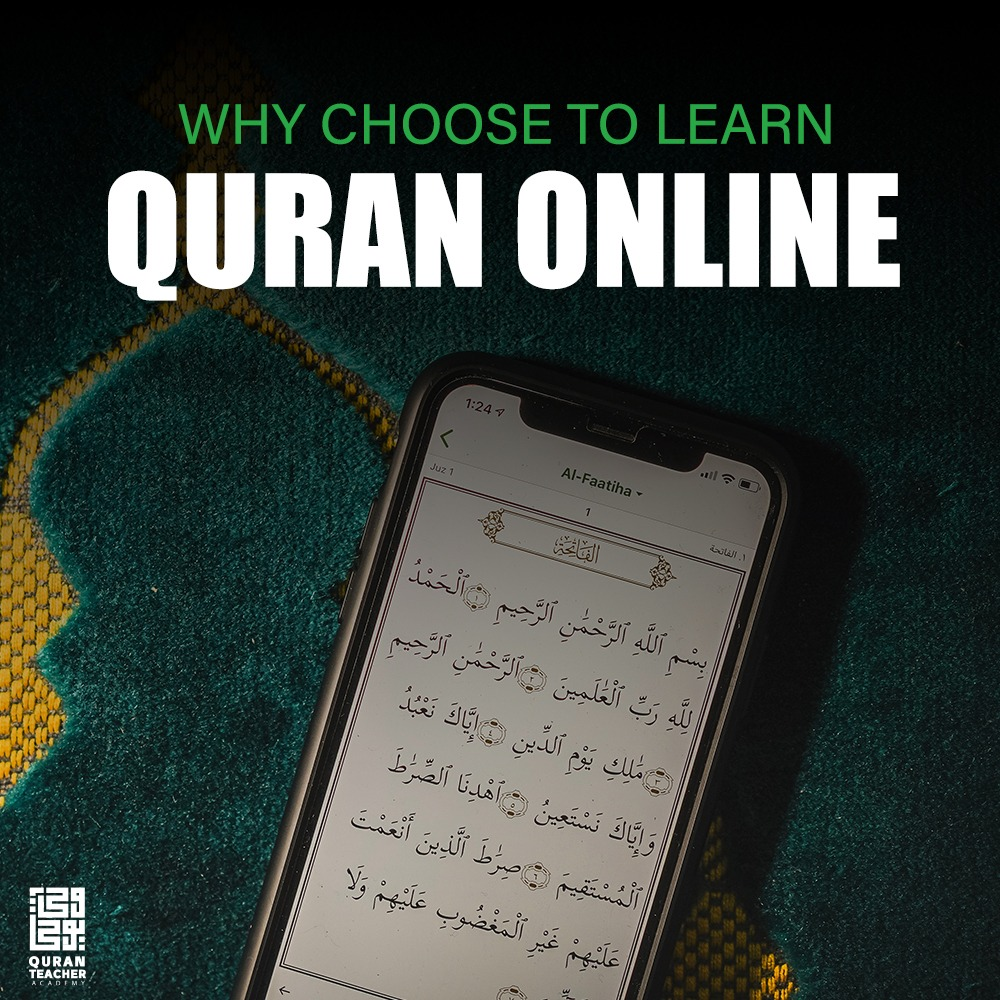 Why choose to Learn Quran online?